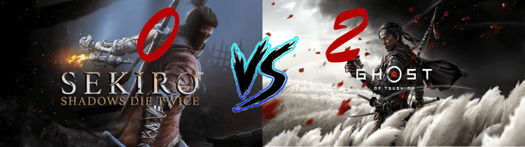 Sekiro Vs. Ghost of Tsushima 0 2