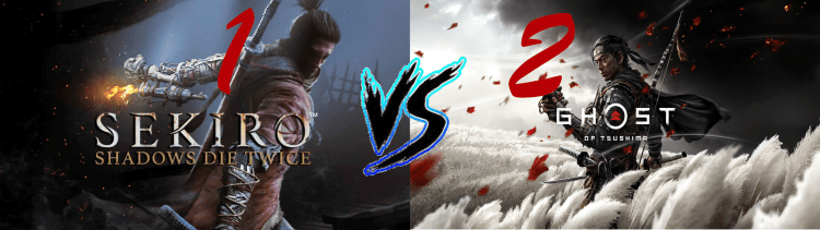 Sekiro Vs. Ghost of Tsushima 1 2