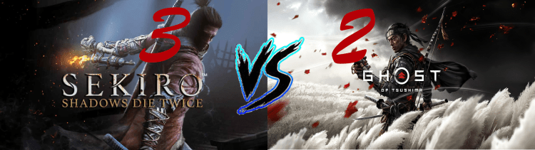 Sekiro Vs. Ghost of Tsushima 3 2