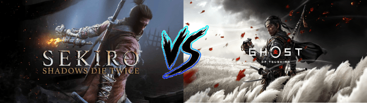 Sekiro vs. Ghost of Tsushima