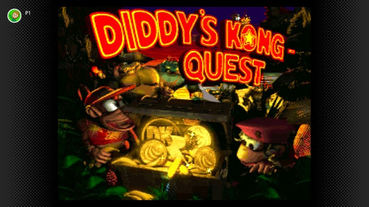 Donkey Kong Country 2 title screen