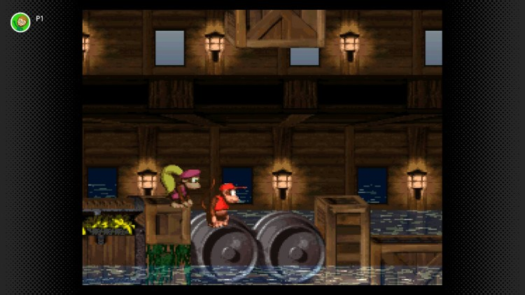 Donkey Kong Country 2 graphical example
