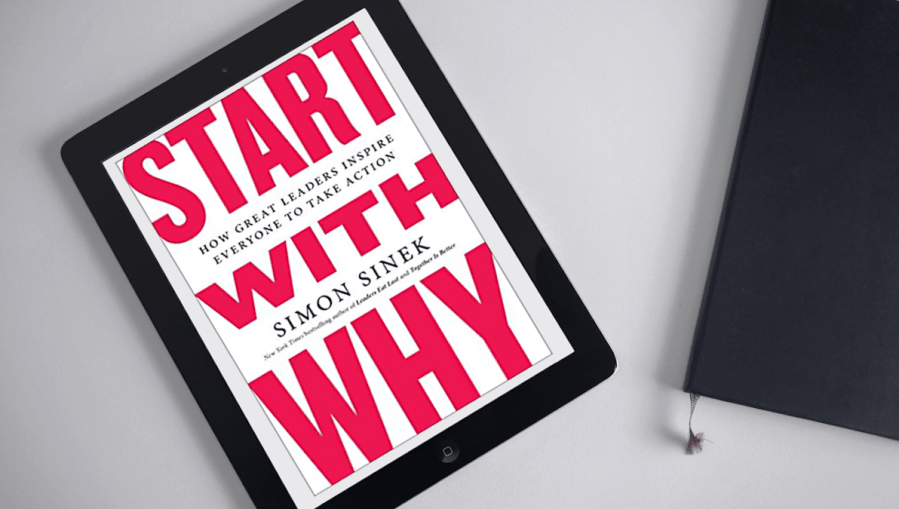 <strong>Start with Why</strong> Book Cover