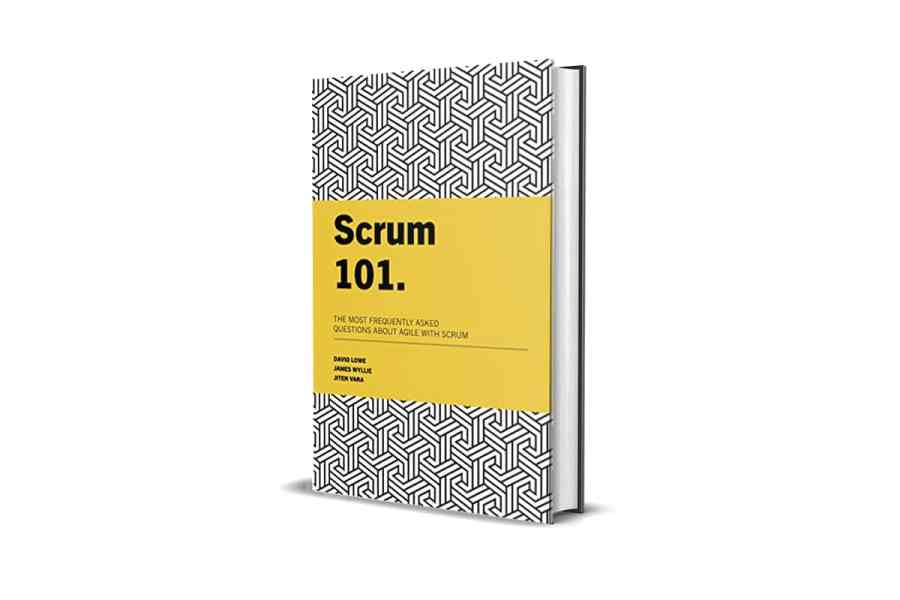 <strong>Scrum 101: The most frequently asked questions about Agile with Scrum</strong> Book Cover