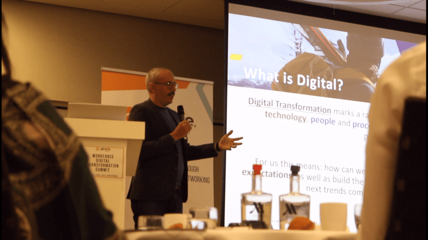 My presentation at the Workforce Digital Transformation Summit.