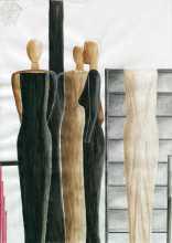 CONVERSAZIONE MOBILE 30x42 cm pastelli e inchiostro 2013