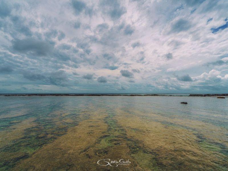 El cielo y el mar se mezclan en Tonga