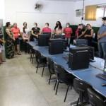 Parceria entre Prefeitura, Justiça do Trabalho e MPT garante novos computadores para laboratório em escola municipal de Alto Araguaia