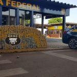 Sul de MT: Polícia encontra 640 kg de maconha dentro de veículo