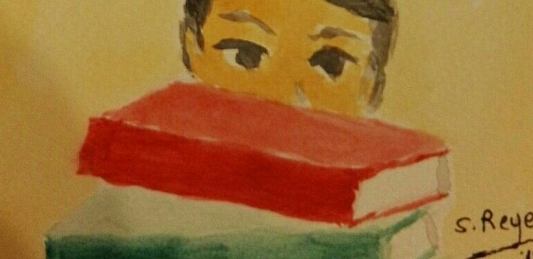 Acuarela: Niñez lectora