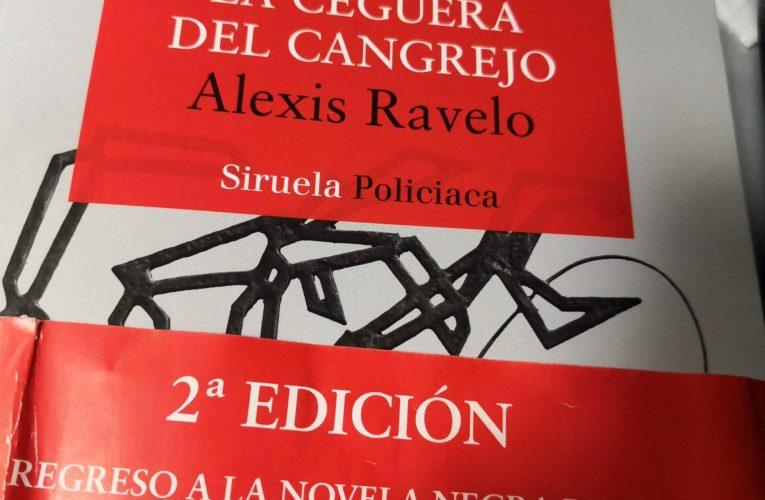 La ceguera del cangrejo – Alexis Ravelo (reseña con crucigrama)