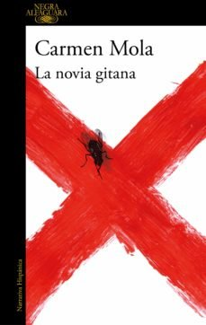 Portada de la novela La novia gitana de Carmen Mola