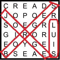 Sopa de letras literaria de Borges (incluye mensaje oculto)