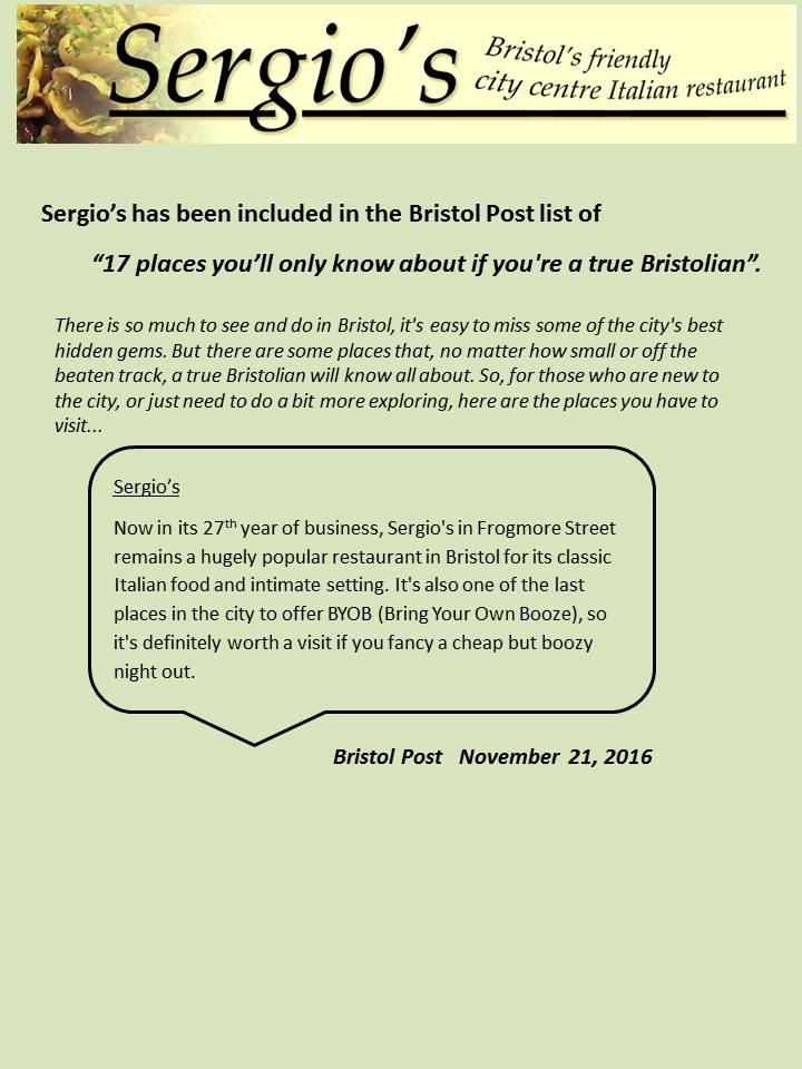 Bristol Post 2016