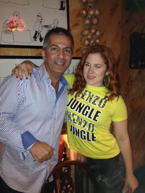 Katy B at Sergio's