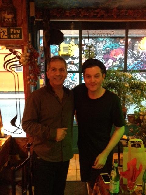 Mathew Horne at Sergio's
