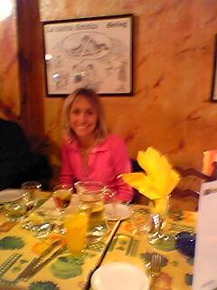 Michaela Strachan at Sergio's