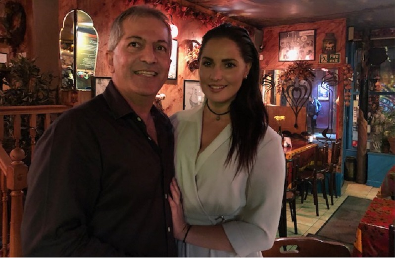 Zoe George at Sergio's