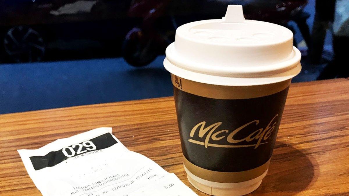 McCafé gratis los lunes