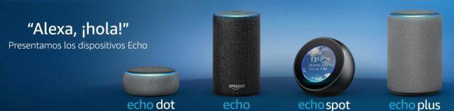 Comparativa Amazon Echo en promoción