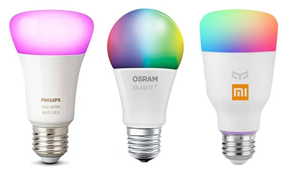 Bombillas Philips vs Xiaomi vs Osram