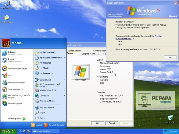 Windows XP SP3 ISO 2020 Crack With Product Key Full Free Download