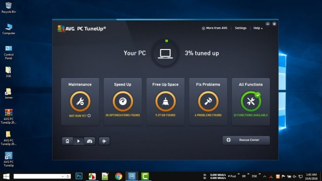 AVG PC TuneUp 19.1 Build 955 Crack key + Activation key Full Version