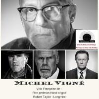 Michel Vigné notre premier invité du 3éme Printemps des séries et du doublage