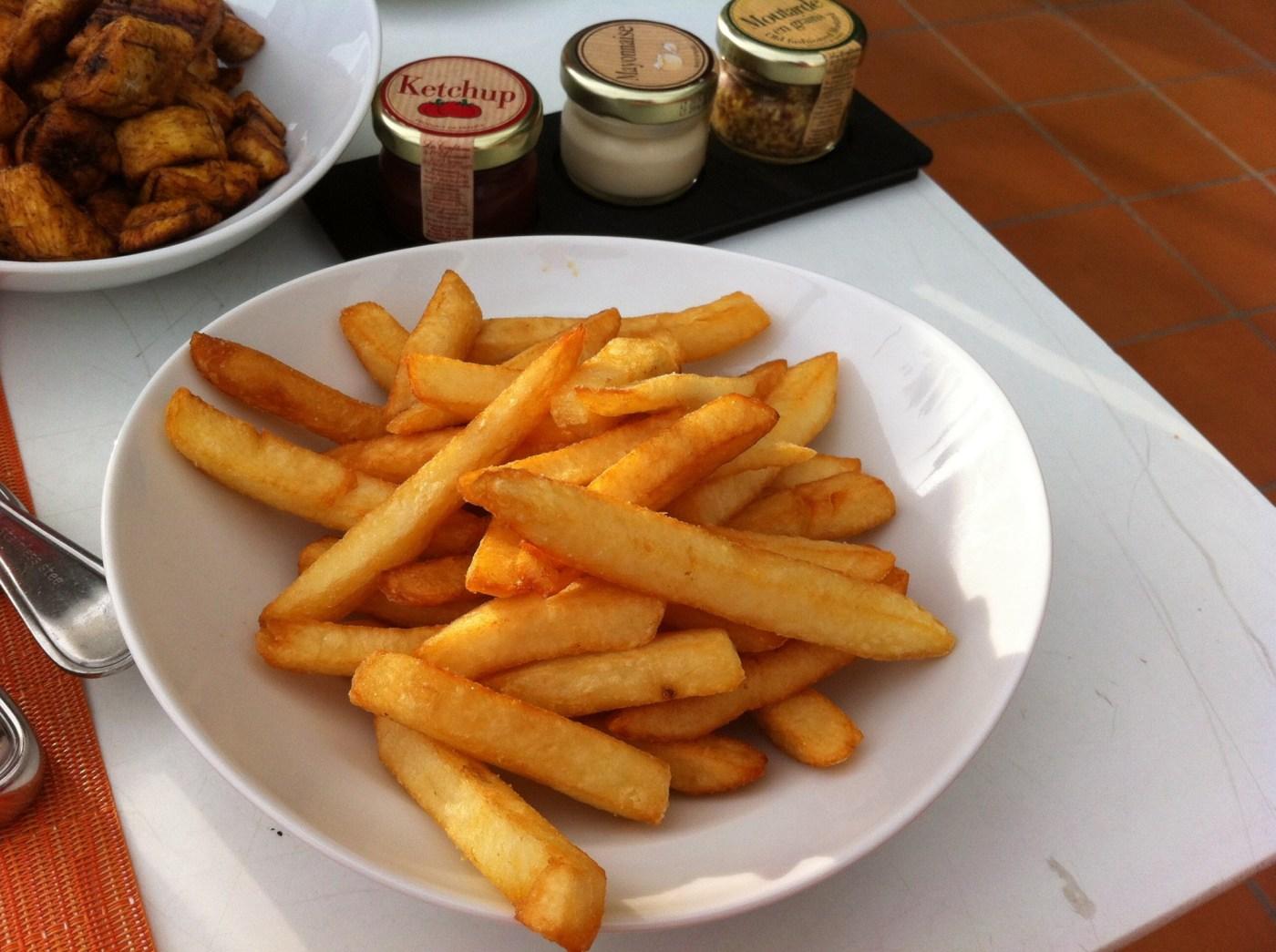 frites du Sofitel Abidjan Hôtel Ivoire