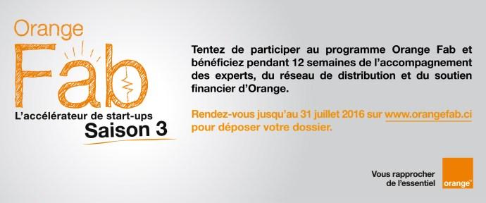 Orange Fab, les inscriptions c'est maintenant !