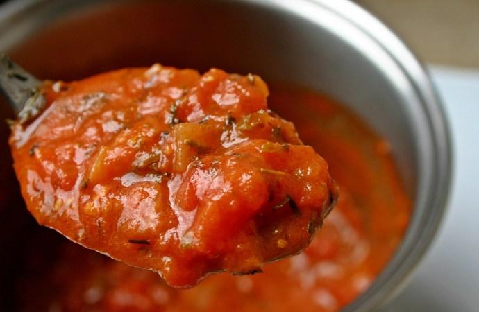 la sauce tomate aux épices, serialfoodie