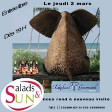 A Salad And Sun le 2 mars !