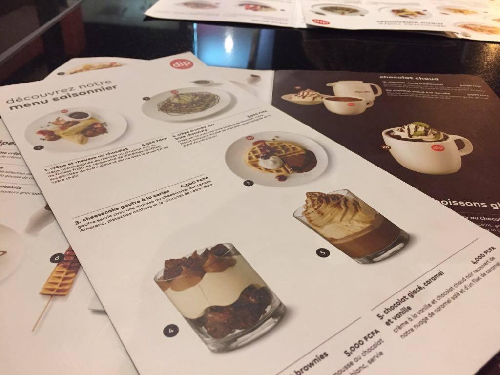 Le Top 3 de la carte de saison de Dipndip, top, serialfoodie, blog, blogger, critique culinaire, abidjan, côte d'ivoire