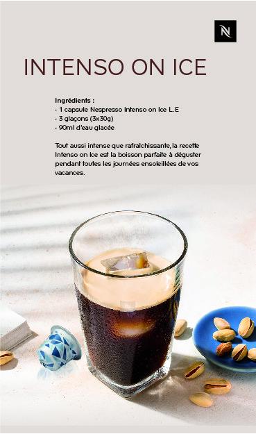 SAVOUREZ UN AVANT-GOÛT DES VACANCES AVEC LES DEUX NOUVEAUX CAFÉS DE NESPRESSO À CONSOMMER GLAÇÉS, nespresso, serialfoodie, edition limitée