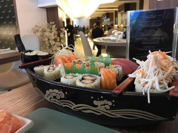 Ushi Sushi Abidjan, sushi abidjan cocody, serialfoodie, cote d'ivoire