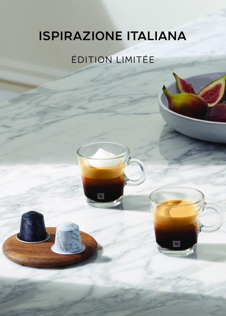 inspiration italiana, edition limitée, nespresso, abidjan, cote d'ivoire, serialfoodie, Chiara ferragni
