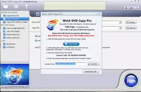 WinX DVD Copy Pro 3.9.2 Crack & Serial Key Download 2019