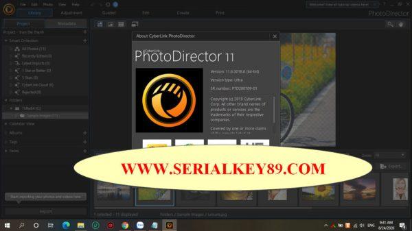 CYberLink Photo Director Ultra 11.6.3018.0