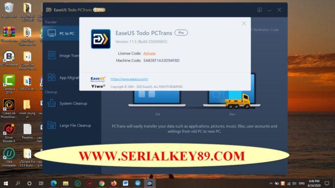 EAseUS Todo PCTrans Professional 11.5 Build 20200603