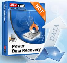 MiniTool power data recovery 10.0