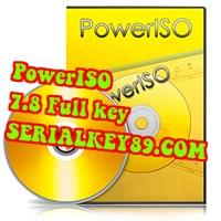 PowerISO 7.8 Full key