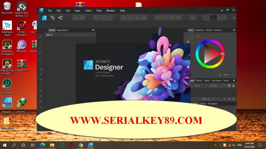 Serif Affinity Designer 1.8.5.703