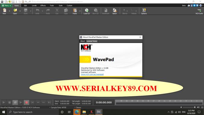 Wavepad Sound Editor 10.88