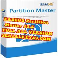EASEUS Partition Master 15.5