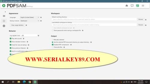 PDFsam PDF Split and Merge 4.2.4