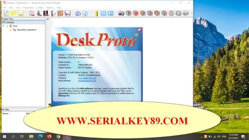 DeskProto 7.1 Revision 10231