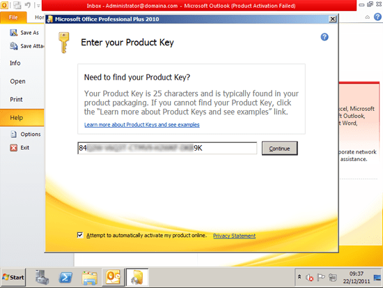 microsoft excel product activation failed crack