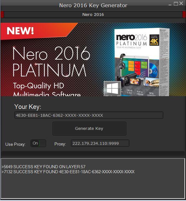 nero 2016 platinum crack keygen