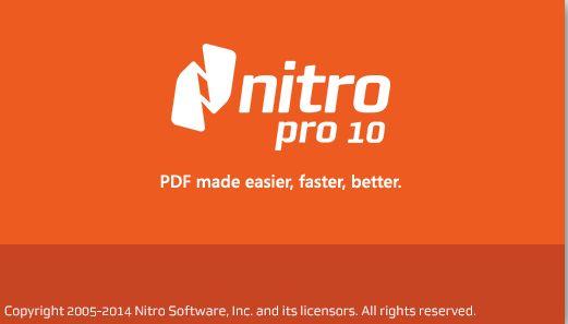 Nitro Pro 10 Serial Number Crack Keygen Free Download