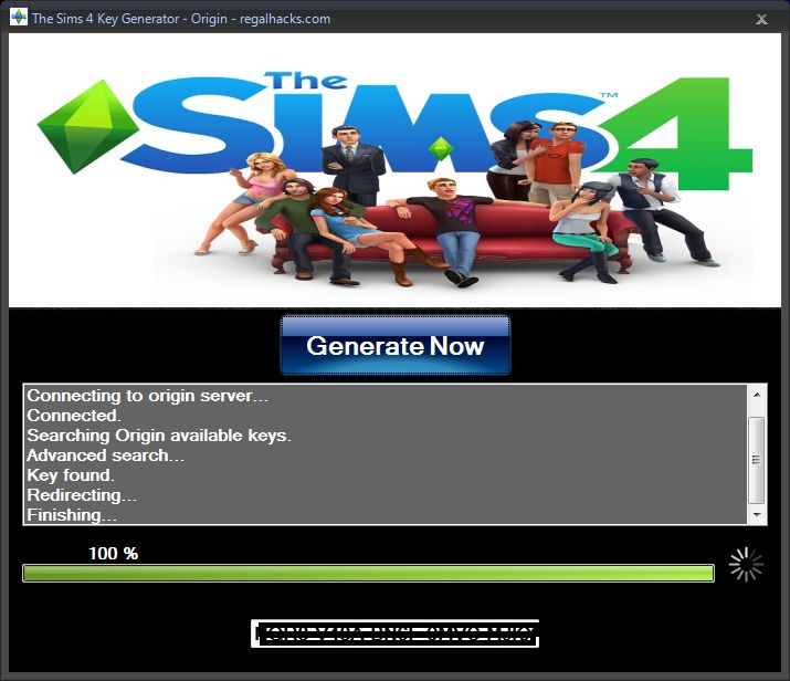 license key generator for sims 4